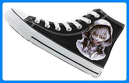 Bromeo Tokyo Ghoul Unisex Segeltuch Hallo-Spitze Sneaker Trainer Schuhe - Sneakers für frauen (*Partner-Link)