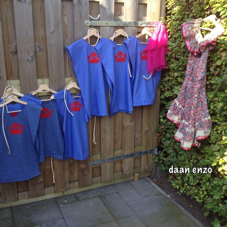 Ridderkleding en een jurk voor de jonkvrouw | Ridders ...