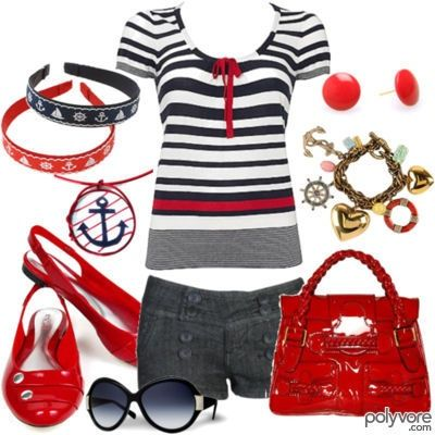 Nautical clothes for women CUTE!