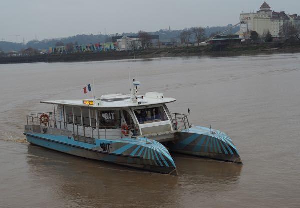Boat Tour on Bordeaux River-Bus BatCub: http://www.francetraveltips.com/4-boat-tours-experience-outside-paris/