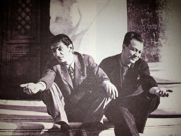 Abidin Dino ve Fikret Mualla (1934, İstanbul) #istanlook