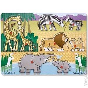Пазл Melissa & Doug Угадай африканское животное (1873)