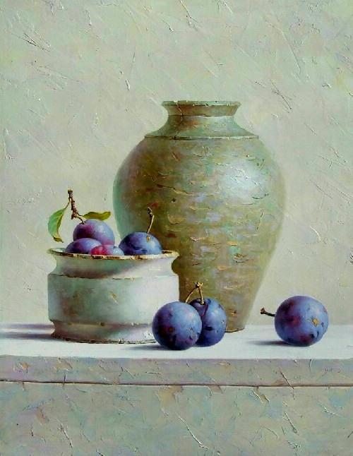 1000 images about art on pinterest oil on canvas - Floreros modernos ...