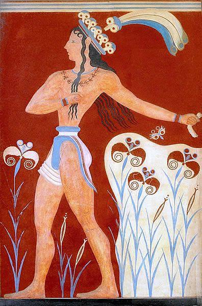 Liliowy książę, ok. 1550 BC