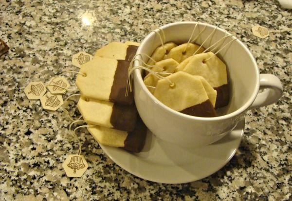 The English Approve: Tea Bag Cookies -