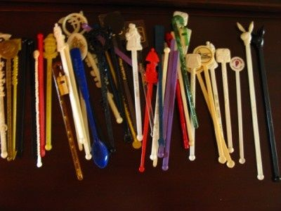 My parents had a sizable and fascinating collection of stir sticks from around the world