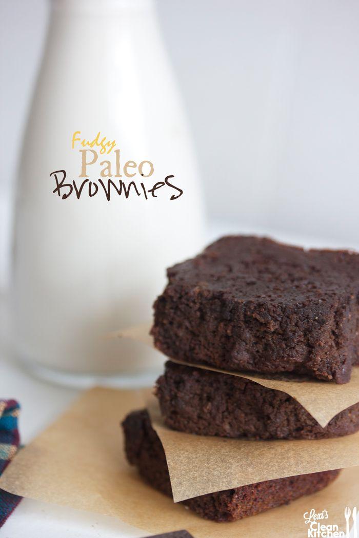 Paleo Brownies | Lexi's Clean Kitchen #Paleo #GlutenFree http://lexiscleankitchen.com/2013/07/05/paleo-brownies/