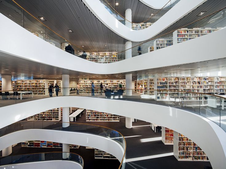 Most beautiful libraries in the world : University of Aberdeen Library, Aberdeen, Scotland