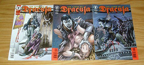 The Curse of Dracula #1-3 VF/NM; Dark Horse complete series @ niftywarehouse.com #NiftyWarehouse #Dracula #Vampires #ClassicHorrorMovies #Horror #Movies #Halloween #Vampire