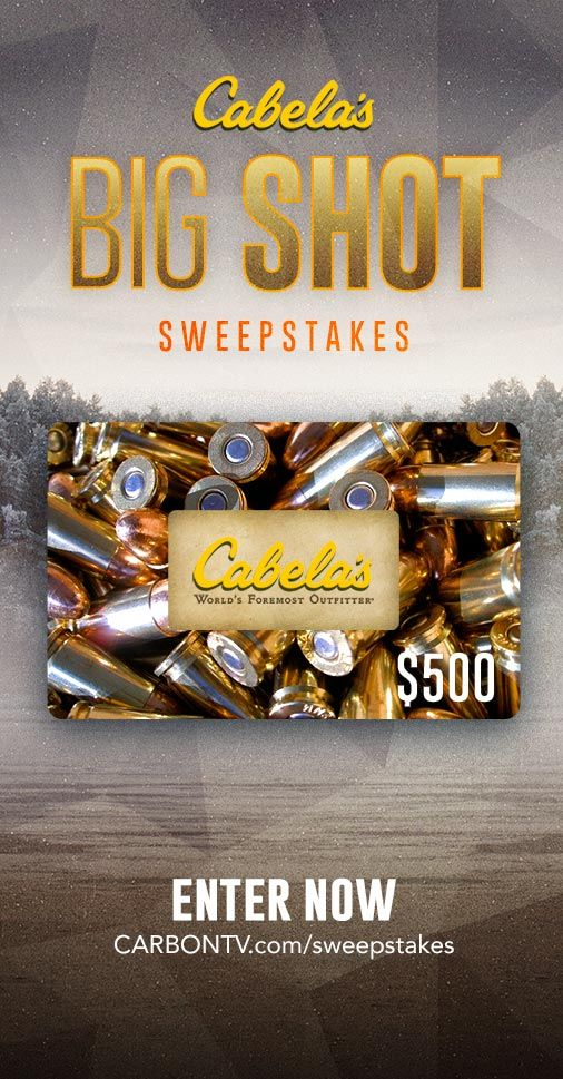 """Here's your chance to WIN $500 CASH! Enter #CarbonTV's January #Sweepstakes now."""