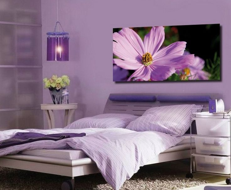 17 best ideas about purple bedroom walls on pinterest for Deep purple bedroom ideas