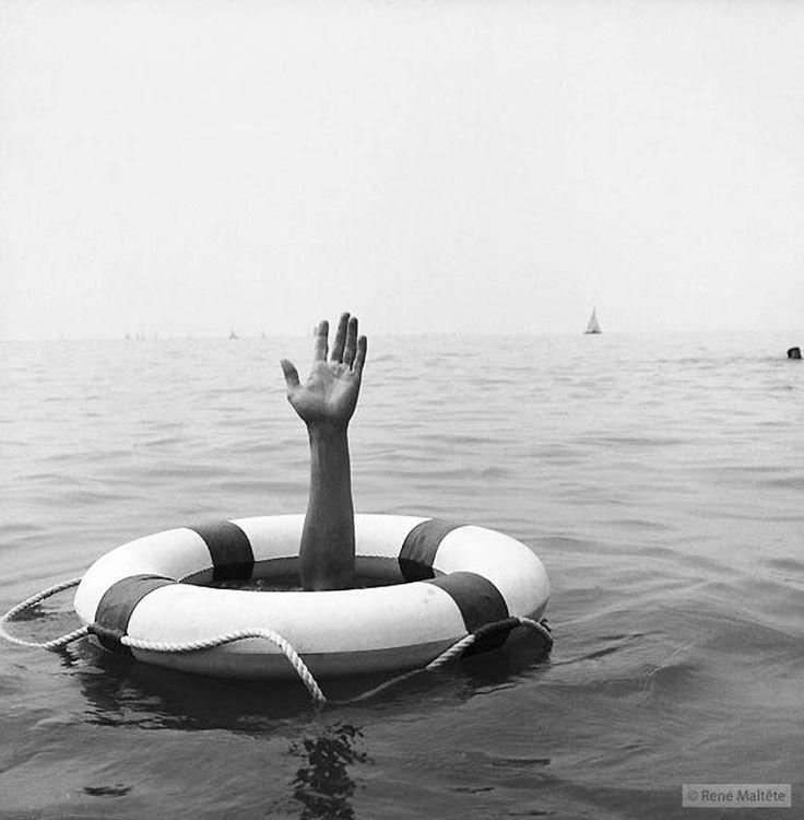 Street photography – Les amusantes photographies vintage de René Maltête