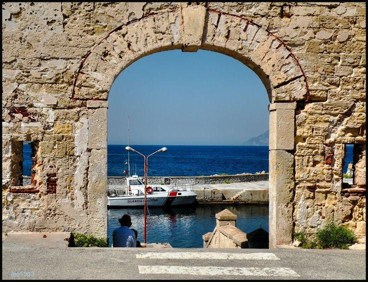 Pianosa Island Port of the harbor