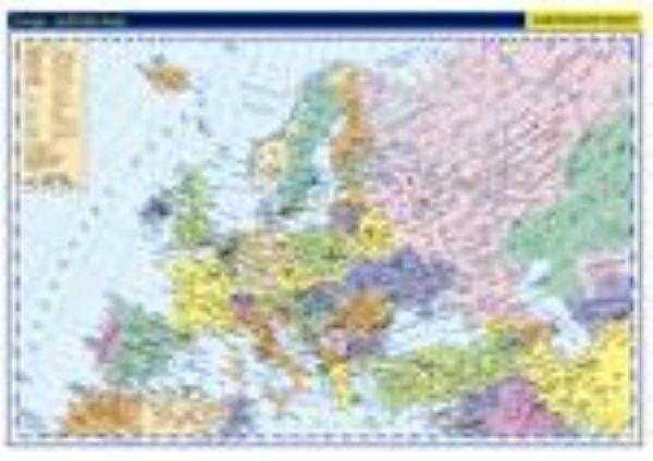 Evropa - politická mapa   MP a 20 ks mapek (nástěnná mapa) | ALBRA - Prodej a distribuce učebnic