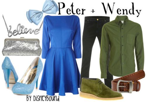 I must say I love the Peter and Wendy looks!
