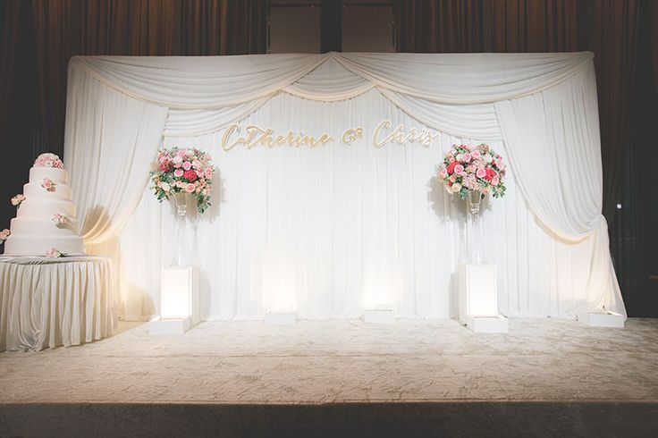 A blush coral and red church wedding churches backdrops and wedding junglespirit Images