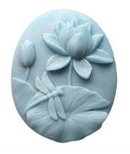 Nuova Lotus libellula Mestieri Arte Silicone Soap stampo Craft stampo DIY Handmade stampi sapone(China (Mainland))