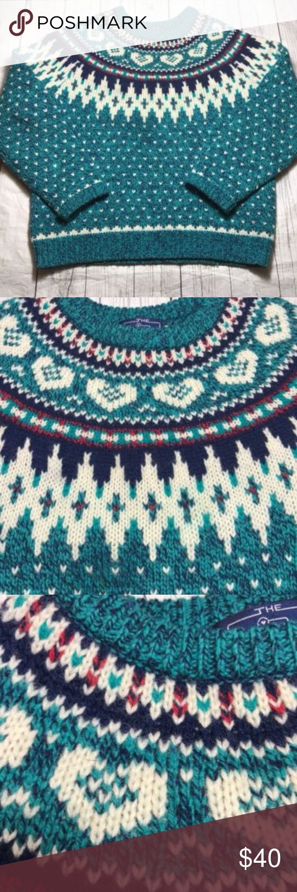 "Womens Vintage Woolrich Wool Sweater 80's skiing Vintage Woolrich  Women's Medium Crewneck Green WoolBlend Chest:  21"" Length:  23""  A Woolrich Sweaters Crew & Scoop Necks"