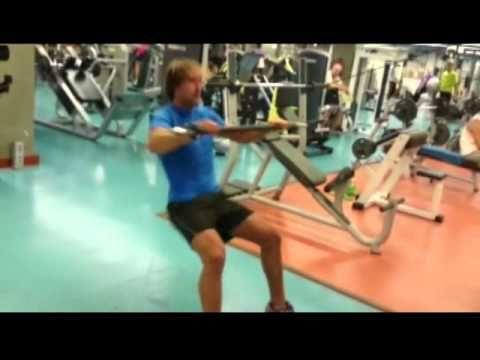 Musto Skiff gym workout - YouTube