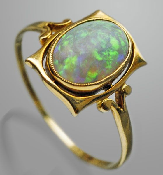 Gold opal. Arts & Crafts