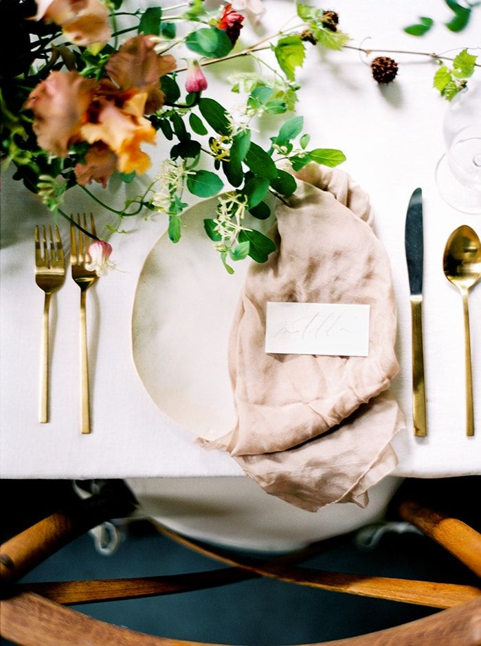 wild ethereal wedding inspiration | ginny au styling | image via: once wed