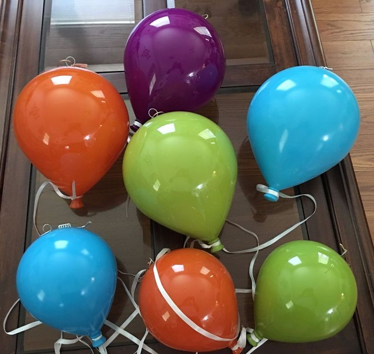 Spring Splash Party Decorations  Choose from Large & Small Plastic Balloons