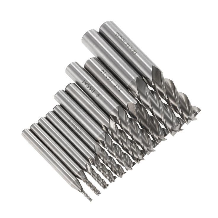 $24.37 (Buy here: https://alitems.com/g/1e8d114494ebda23ff8b16525dc3e8/?i=5&ulp=https%3A%2F%2Fwww.aliexpress.com%2Fitem%2F11pcs-Drill-bit-HSS-AL-High-Speed-Steel-Milling-Cutter-End-Mill-Drill-Bits-Straight-Shank%2F32736490961.html ) 11pcs Drill bit HSS-AL High Speed Steel Milling Cutter End Mill Drill Bits Straight Shank Cutting Tool Stainless Steel 2-12mm for just $24.37