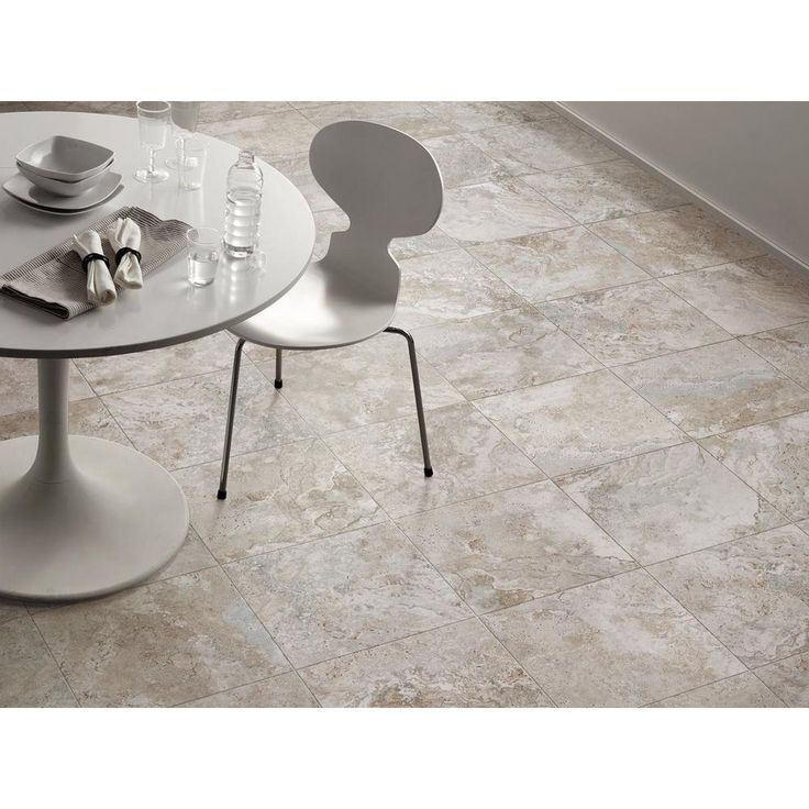 Tarsus Gray Polished Porcelain Tile - 12in. x 12in. - 100006956   Floor and Decor