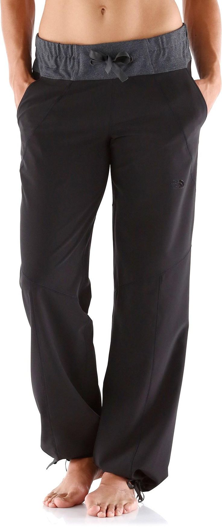 Who says you can't be comfortable at the tailgate? The North Face Sanctuary Pants - Women's.