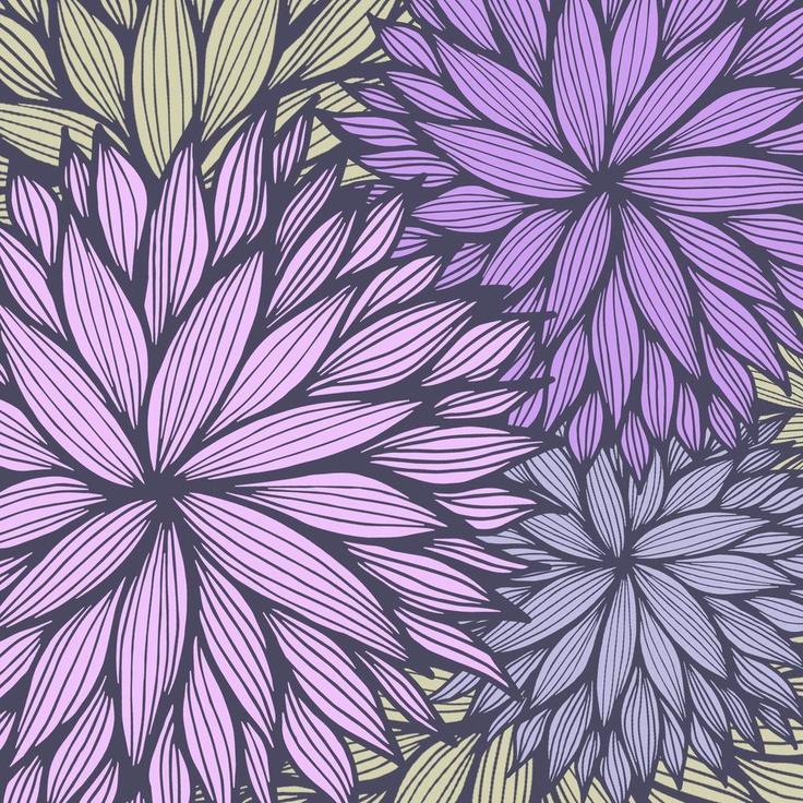 Purple Dahlia, Gabi Press