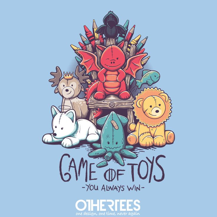 """""""Game of Toys"""" by victorsbeard Shirt on sale until 07 June on othertees.com Pin it for a chance at a FREE TEE! #gameofthrones"""