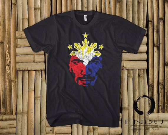 Boxing - Manny Pacquiao 8-Time World Champ - Filipino Philippine Flag T-Shirt by ENDUdesigns