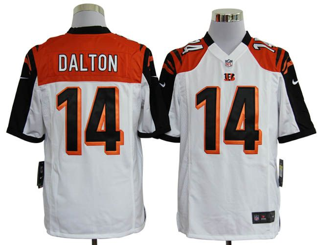 Nike NFL Jerseys Cincinnati Bengals Andy Dalton #14 White  Reliable online store for cheap NIKE NFL Cincinnati Bengals  Jerseys, 2012 New collection, top quality with most favorable price. please click: http://digjersey.com/nike-nfl-jerseys-cincinnati-bengals-c-129_133.html