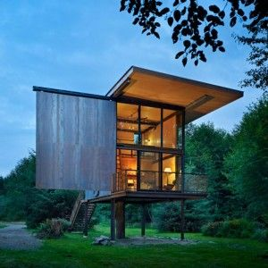 Indestructible Cabin, Tom Kundig