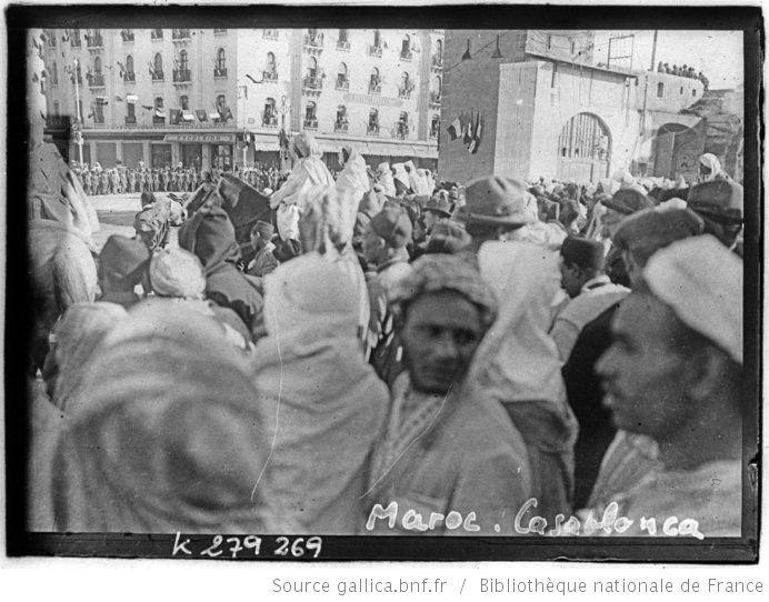 [Recueil. Maroc, voyage du président de la république française M. Alexandre Millerand du 05 au 15 avril 1922 et diverses vues de villes du Maroc en 1925] : [lot de photographies de presse] / [Meurisse ?] - 3