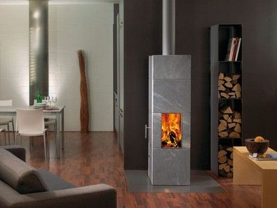 Gorgeous Soapstone Wood Stove Keeps You Warm For 15 Hours