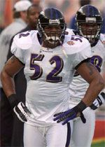 Super Bowl XXXV MVP: Ray Lewis, LB, Baltimore | 3 tackles, 2 assists and 4 passes defensed