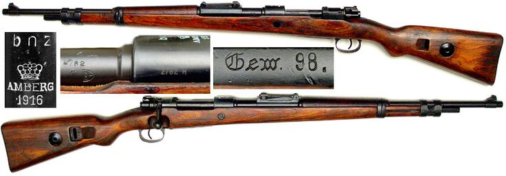 7.92x57 Mauser     Karabiner 98 Kurz