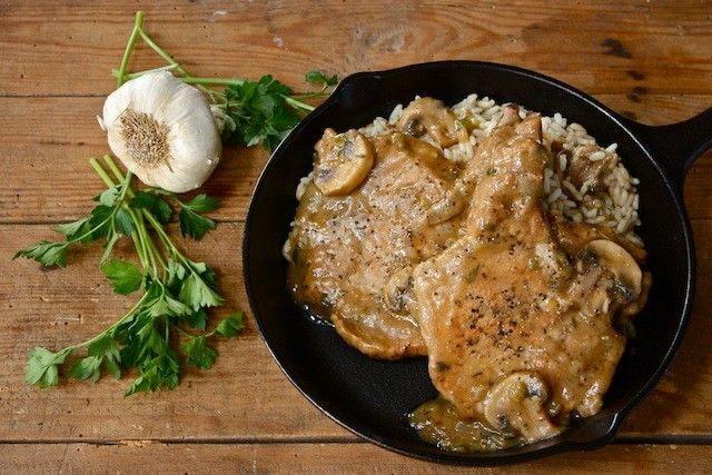 Smothered Pork Chops | Raised on a Roux