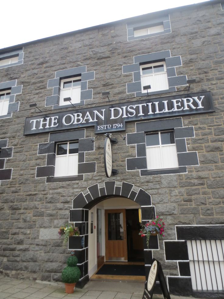 Oban distillery, Oban Scotland.. I'm sure Phil and I will be taking a little day trip for a wee tipple