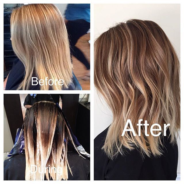 I LOVE rooted blondes..another awesome color melt today! #guytang #modernsalon…
