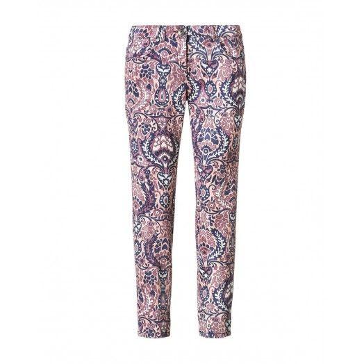 Pantaloni stampati, stretch.V FANTASIA