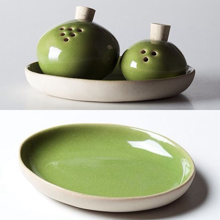 Sale e pepe in verde .