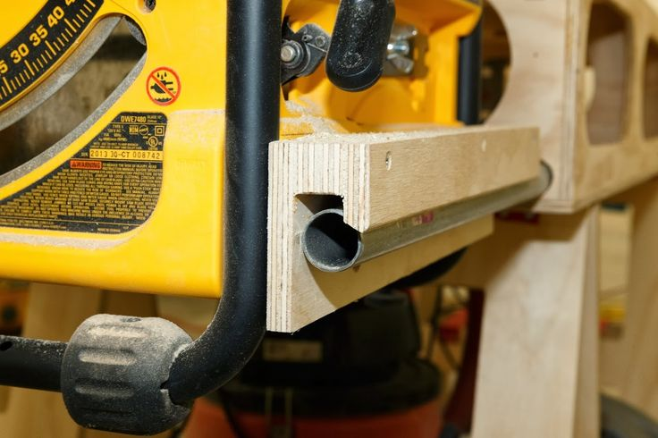 Detail photos of the Paulk Workbench mount for DeWalt DWE-7480  -  Ron Paulk - Google+