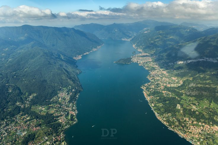 https://flic.kr/p/UYWiBh | Over Bellagio | The real one, in north Italy.