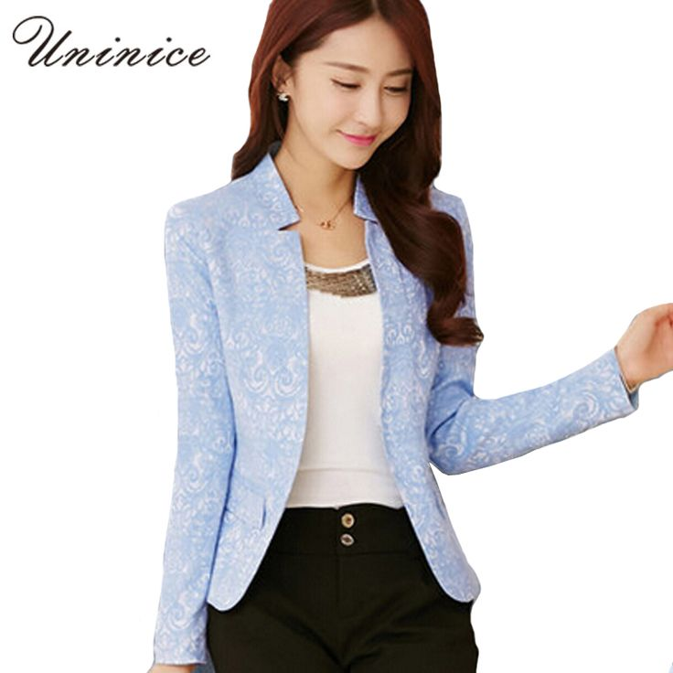 Women Blazers And Jackets Leopard Print Blazer Women blazer Slim Coat Casual One Button Outerwear Blazer Feminino 2016 4E1647