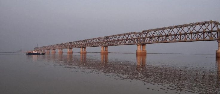 What's Hot and Happening: People Anticipate Ganga Rail–Road Bridge, Digha, P...