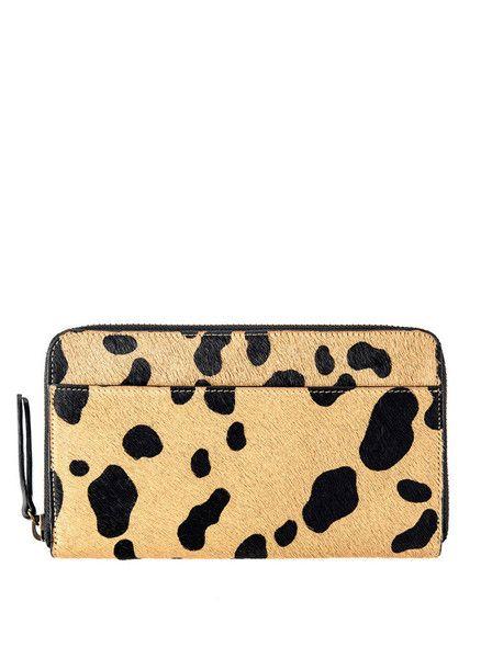 Status Anxiety - Delilah Wallet - Cheetah $99.00