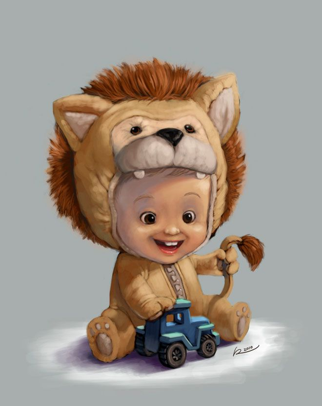 Ramirez Madriz ★ Find more at http://www.pinterest.com/competing/character-design-kids/