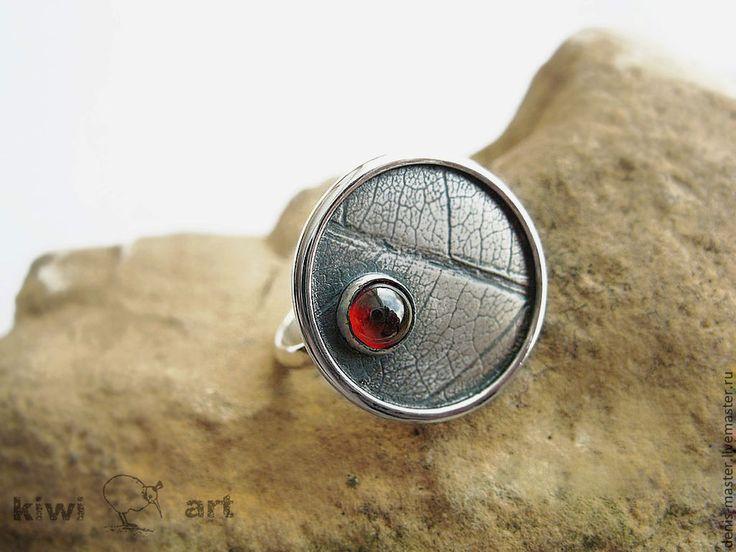 """Купить """"весна"""" кольцо из серебра - серебряный, украшения из серебра, серебряные украшения, серебряные кольца"""